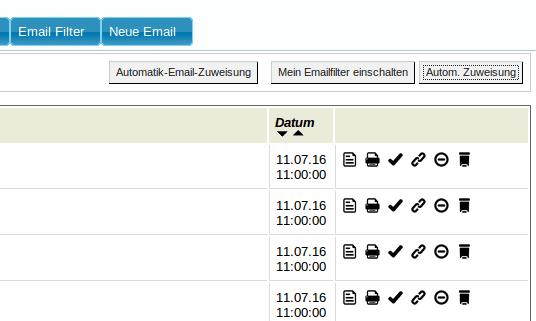 Mailmaster: Spamfilter (YES-System)