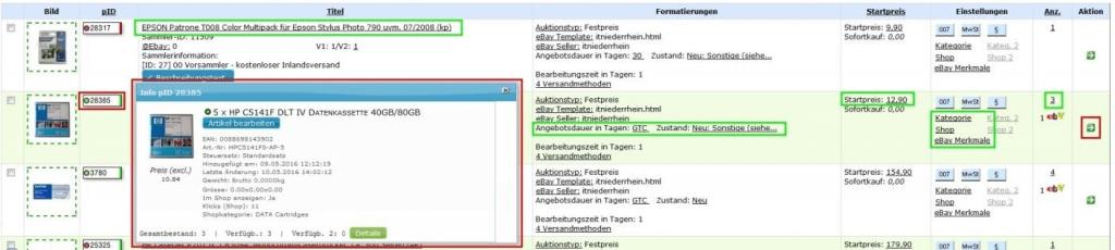 Sammlerartikel: Sammler-Produkte (YES-System)
