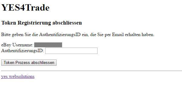 Ebay Token verlängern: Token4