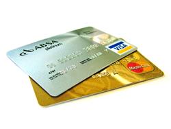 Payment Module Bezahlen im Shop: Symbolbild Kreditkarten (YES-System)