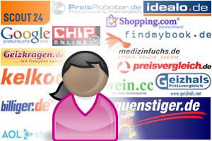 Preissuchmaschinen: Beispielbild für Angebote im Netz
